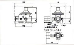 RD-43减压阀尺寸图
