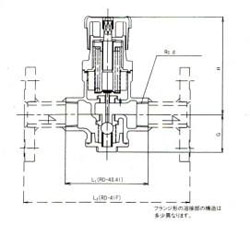 RD-40减压阀尺寸图