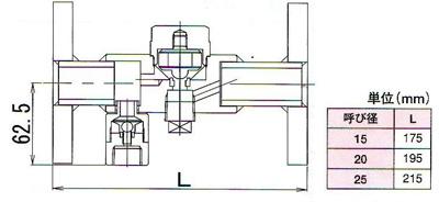 AT-6FB疏水阀尺寸图